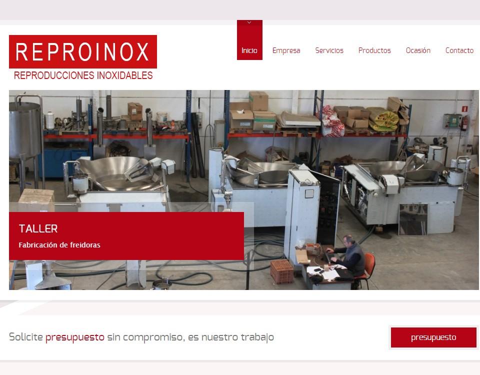 Página web Reproinox
