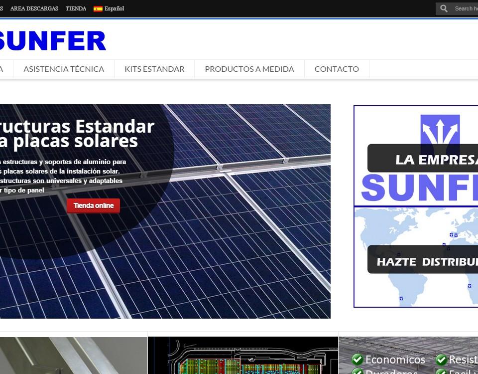 Diseño web Sunfer Energy