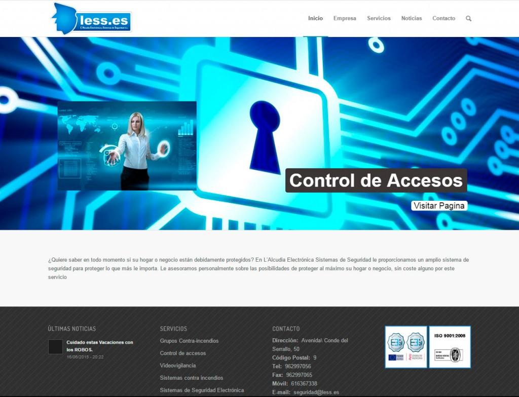 Página Web Laess seguridad – Apunts Informática