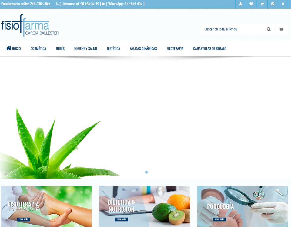 fisiofarma web